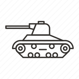 army, soldier, tank, war, weapon icon