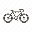 bicycle, bike, cycle, cycling, vehicle icon