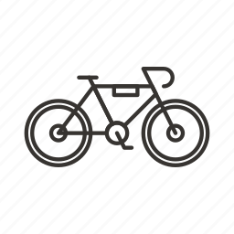 bicycle, bike, cycle, cycling, vehicle icon