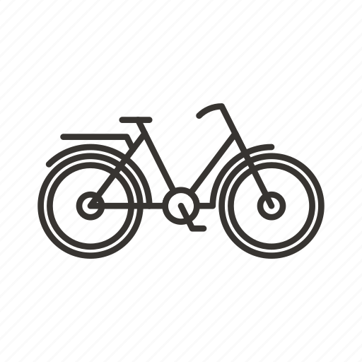 bicycle, bike, cycle, cycling, transport, vehicle icon