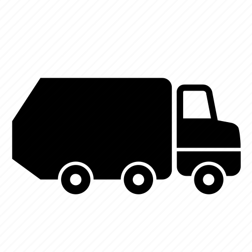 transport, trash, truck icon