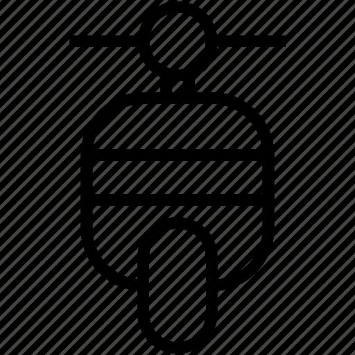 bike, motorscooter, scooter, travel, vespa icon