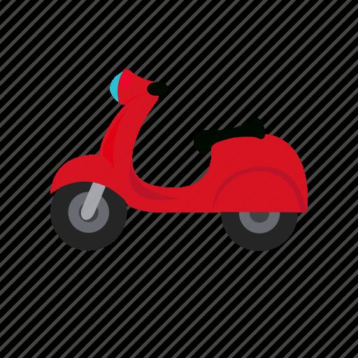 Bike, scooter, transport, vespa icon - Download on Iconfinder