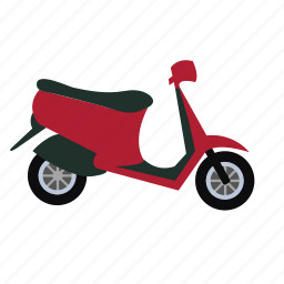 bike, scooter, transport, vespa icon