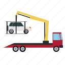 crane, transport, transportation, vehicle icon