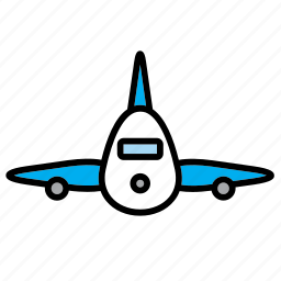 aeroplane, aircraft, airplane, airport, plane, transport, travel icon