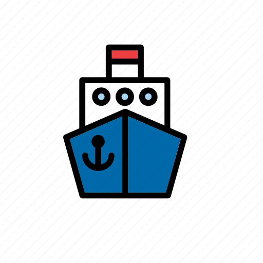 boat, cargo, ship, shipping, transport, transportation icon