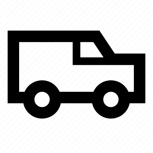 automobile, delivery, delivery truck, truck, van icon