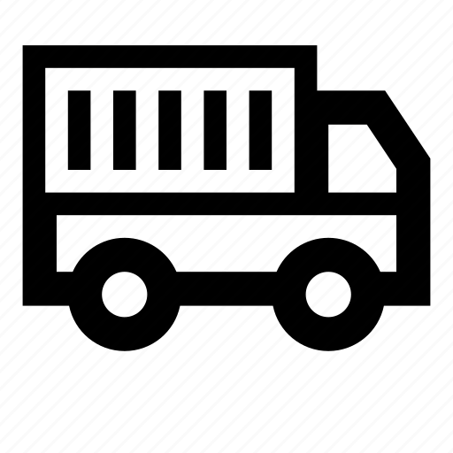 carrier, delivery, transportation, truck, van icon