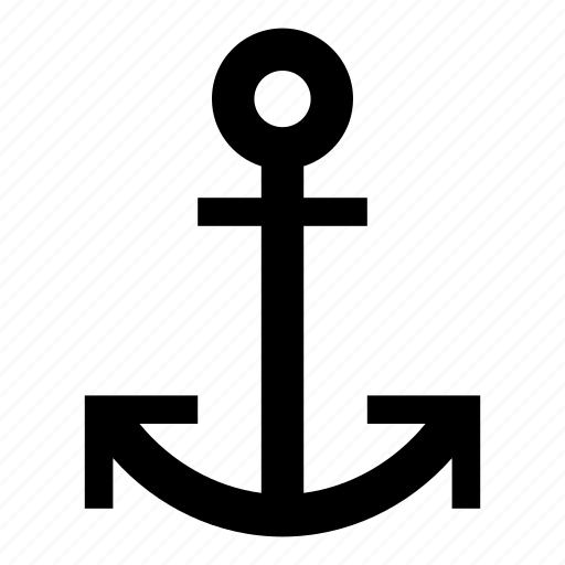 anchor, boat, ocean, ship, travel, yacht icon