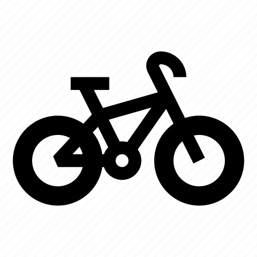 bicycle, bike, bike lane, cruiser, vehicle icon