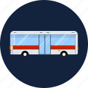 auto, bus, passenger, public, road, traffic, transport icon