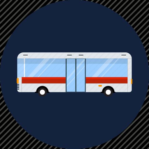 auto, bus, passenger, public, road, traffic, transport icon