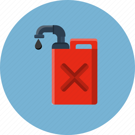 can, canister, container, diesel, gas, jerrycan icon