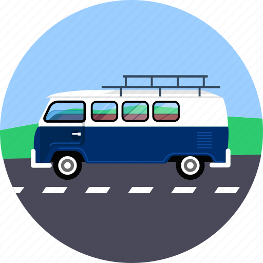 automobile, road, traffic, transport, travel, trip, vehicle icon