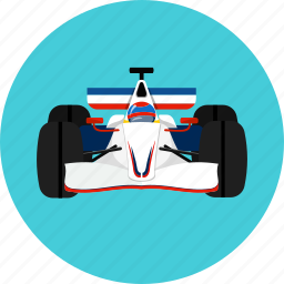 automobile, car, circuit, driver, race, speed, tire icon