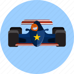 automobile, circuit, competition, extreme, formula 1, motor, race icon