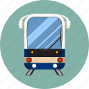 railway, subway, traffic, train, transport, travel, wagon icon