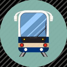 railway, subway, traffic, train, transport, travel, wagon icon