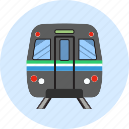 fast, rail, railway, speed, traffic, train, transport icon
