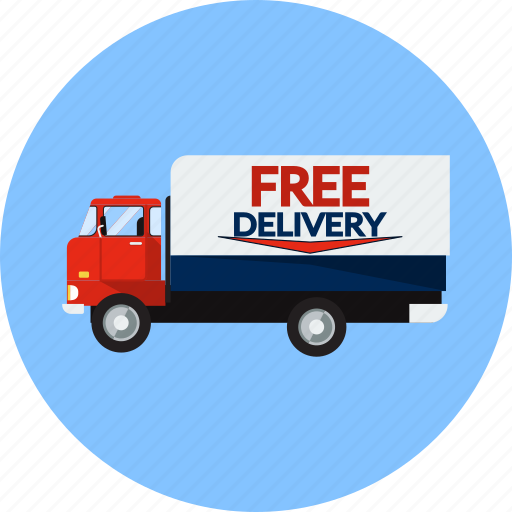 Courier, delivery, logistics, product, retail, shipping, truck icon - Download on Iconfinder