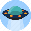 alien, fly, spaceship, transport, ufo icon