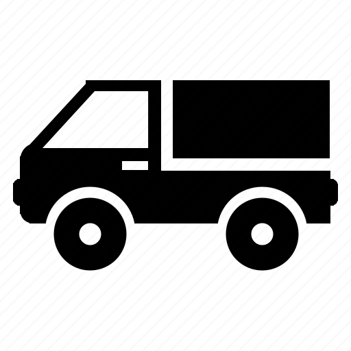 delivery, logistic, package, shipping, van icon