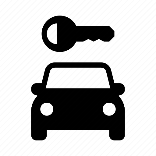 car, rent, rental, service, transport, travel, vacation icon