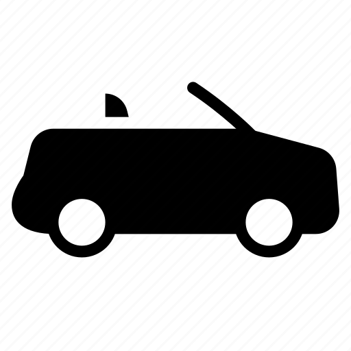 auto, car, convertible, transport, travel, vacation, vehicle icon