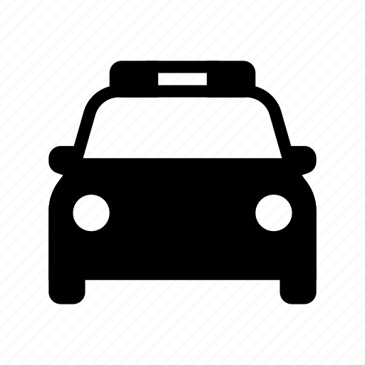 car, flasher, guard, police, protection, security icon