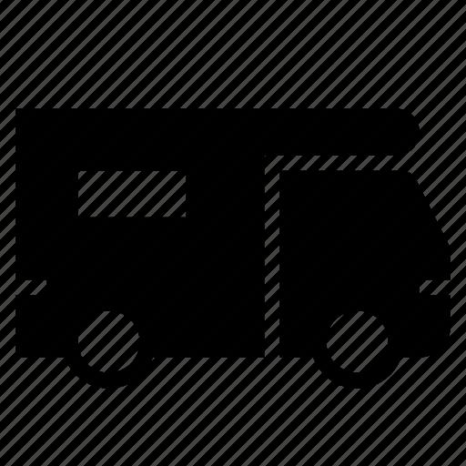 recreational, trailer, travel, traveling, vacation, van, vehicle icon