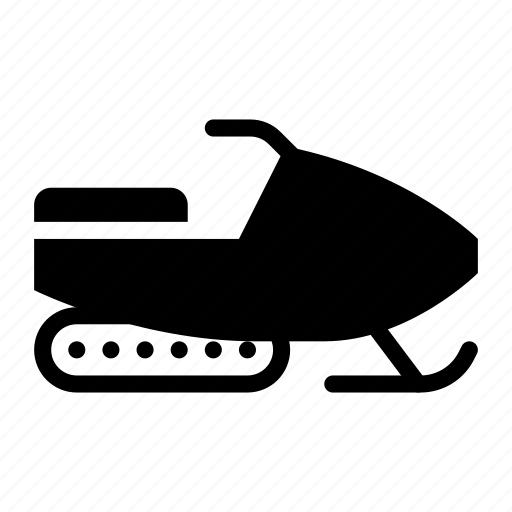 car, snow, snowmobile, transport, transportation, vehicle, winter icon