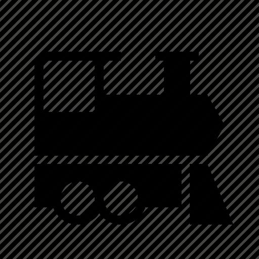 engine, locomotive, railway, retro train, steam, train, transport icon