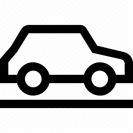 automobile, car, transport, vehicle, walk icon
