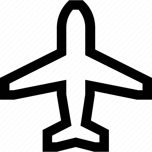 airplane, airport, fly, jet, plane, transport, vehicle icon