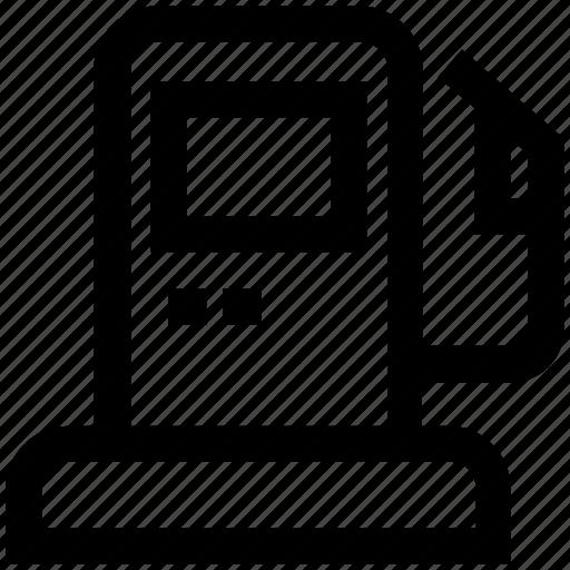 Fuel, gas, gasoline, petrol, petrol pump, petrol station, station icon - Download on Iconfinder