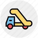 automobile wagon, cargo wagon, lorry wagon, shipment, traffic, truck, vehicle icon