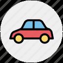 automobile, cab car, car, motor, motor vehicle, taxi, van icon