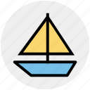 boat, luxury cruise, ship, shipment cruise, travel, vessel icon