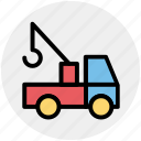 automobile wagon, cargo wagon, delivery wagon, lorry wagon, shipment, traffic, truck icon