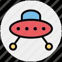 alien, fly, martian, ship, sky, space, ufo icon