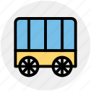 carriage, horse carriage, royal, royal buggy, royal wagon icon
