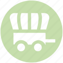 carriage, horse carriage, royal, royal buggy, royal wagon icon