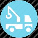 automobile wagon, cargo wagon, delivery wagon, lorry wagon, shipment, traffic, truck icon