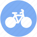 bicycle, racing bicycle, riding, riding cycle, sports bicycle, sports cycle icon