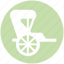 carriage, horse carriage, royal, royal buggy, royal wagon, wedding horse carriage icon