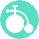 baby cycle, bicycle, cycle, infant, retro, transport icon