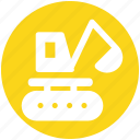 construction, crane, equipment, lift, machine, transport icon