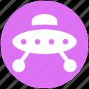 alien, fly, martian, ship, sky, space, ufo