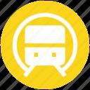 locomotive, metro, rail, railroad, subway, train, transport icon